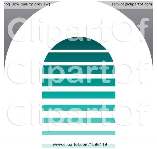 small resolution of clipart of a striped turquoise and gray letter a logo royalty free vector illustration by cidepix