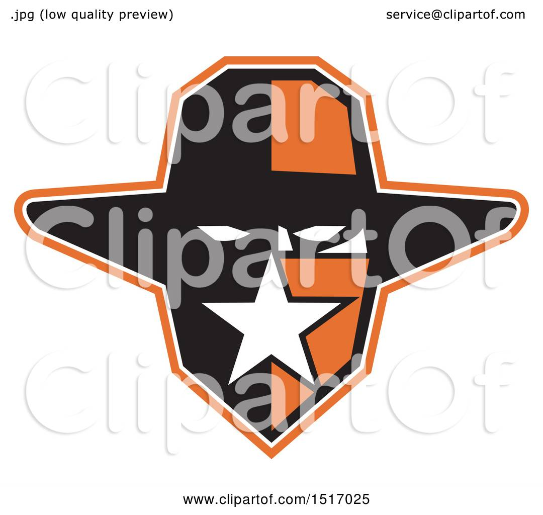 hight resolution of clipart of a texan outlaw wearing a bandana and cowboy hat royalty free vector illustration
