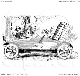 driving woman clipart illustration vector royalty prawny