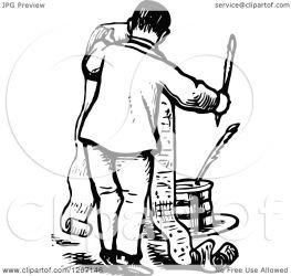 long writing clipart illustration royalty vector prawny copyright regarding notes