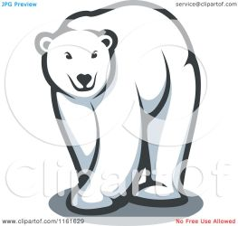 bear polar clipart vector walking illustration royalty graphics tradition sm copyright seamartini protected collc0169 license law without