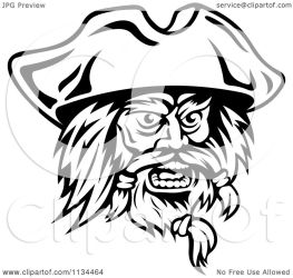 pirate face angry clipart illustration vector royalty tradition sm without graphics seamartini regarding notes clipartof
