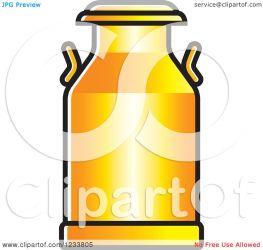 milk clipart orange illustration royalty vector lal perera