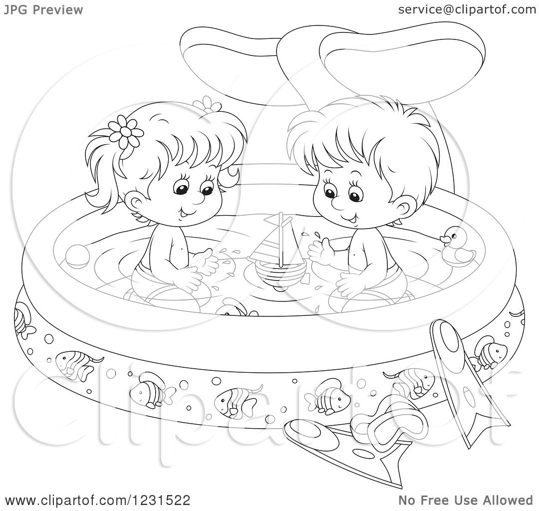 Summer Olympics Swimming Coloring Pages Sketch Coloring Page