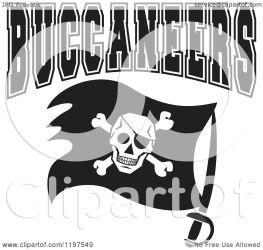 buccaneers flag clipart team text vector royalty illustration sajem johnny copyright regarding notes