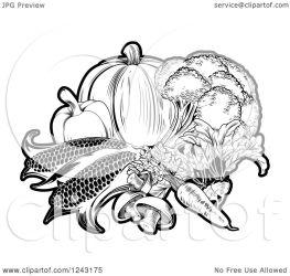 vegetables fresh clipart vector illustration royalty atstockillustration