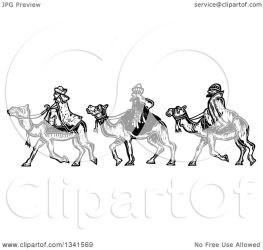 wise camels clipart illustration royalty styled woodcut prawny vector