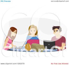 students clipart laptops royalty illustration using bnp studio vector transparent