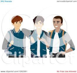 students clipart varsity three jackets bnp studio vector law collc0148