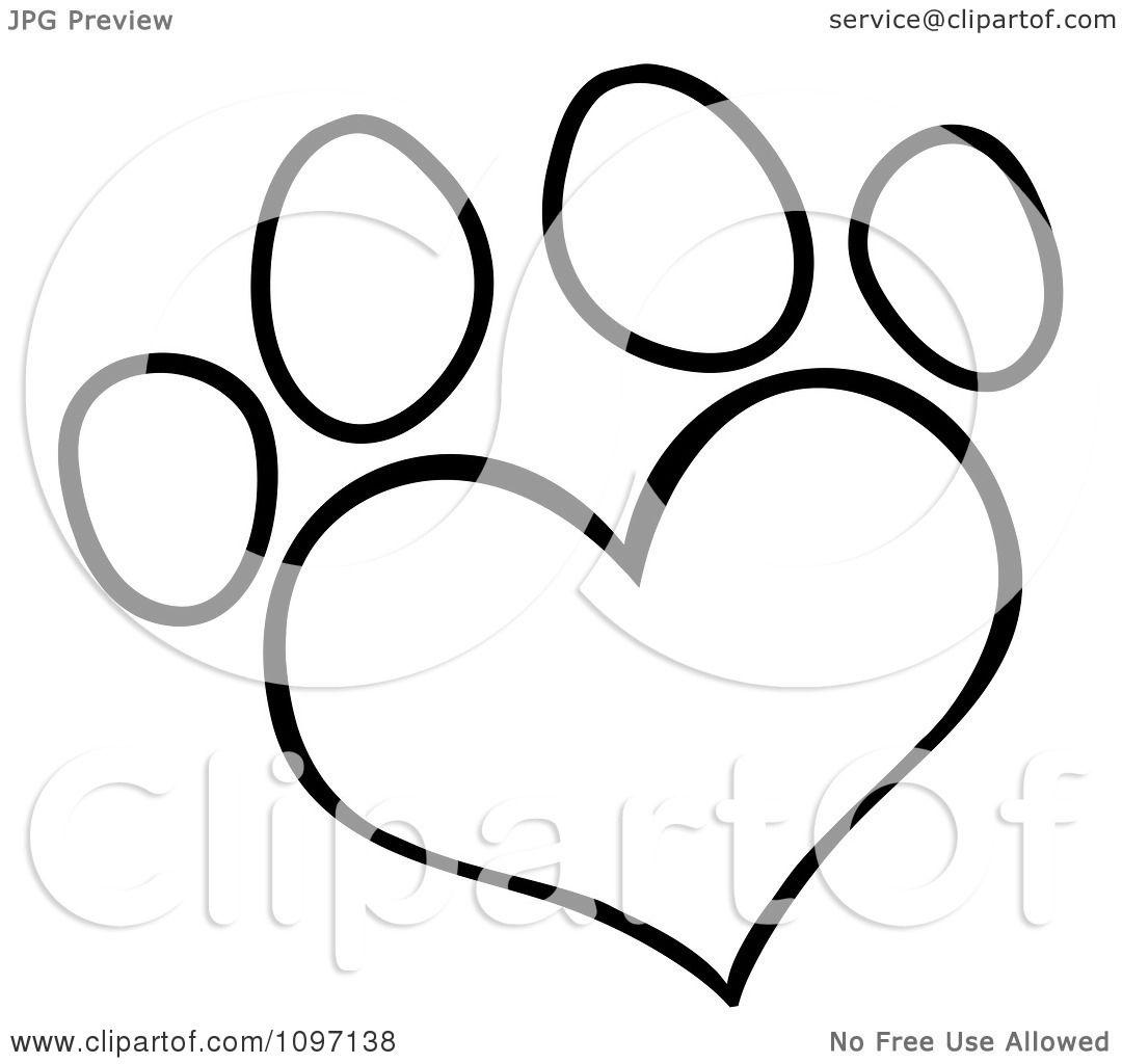 Small Cat Footprints