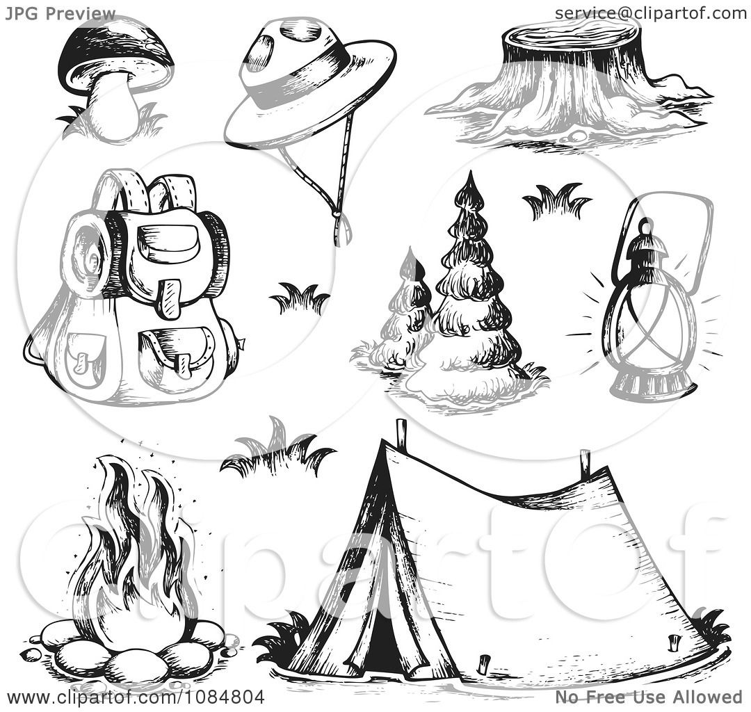Campers Coloring Coloring Pages
