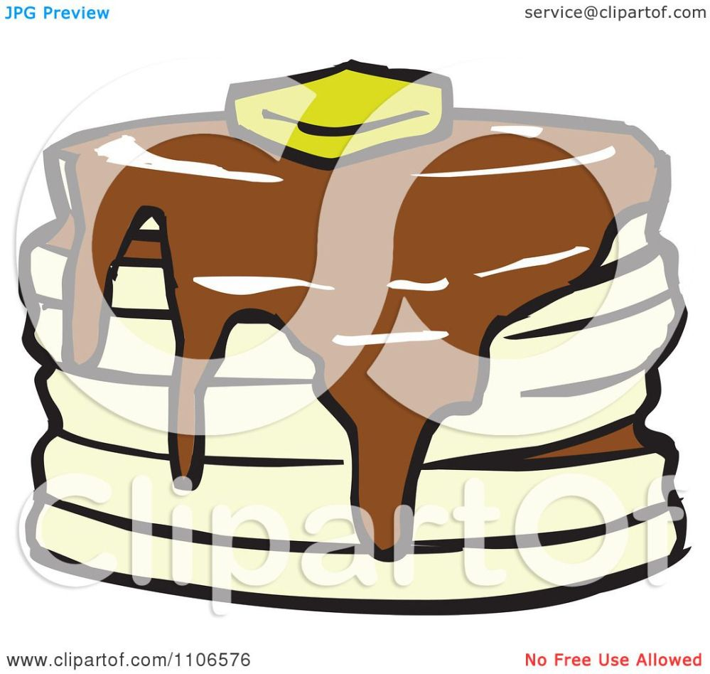medium resolution of clipart stack of pancakes with syrup and butter royalty free vector illustration by cartoon solutions