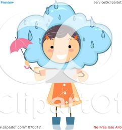 clipart stick girl reading a rainy weather forecast royalty free vector illustration by bnp design studio [ 1080 x 1024 Pixel ]