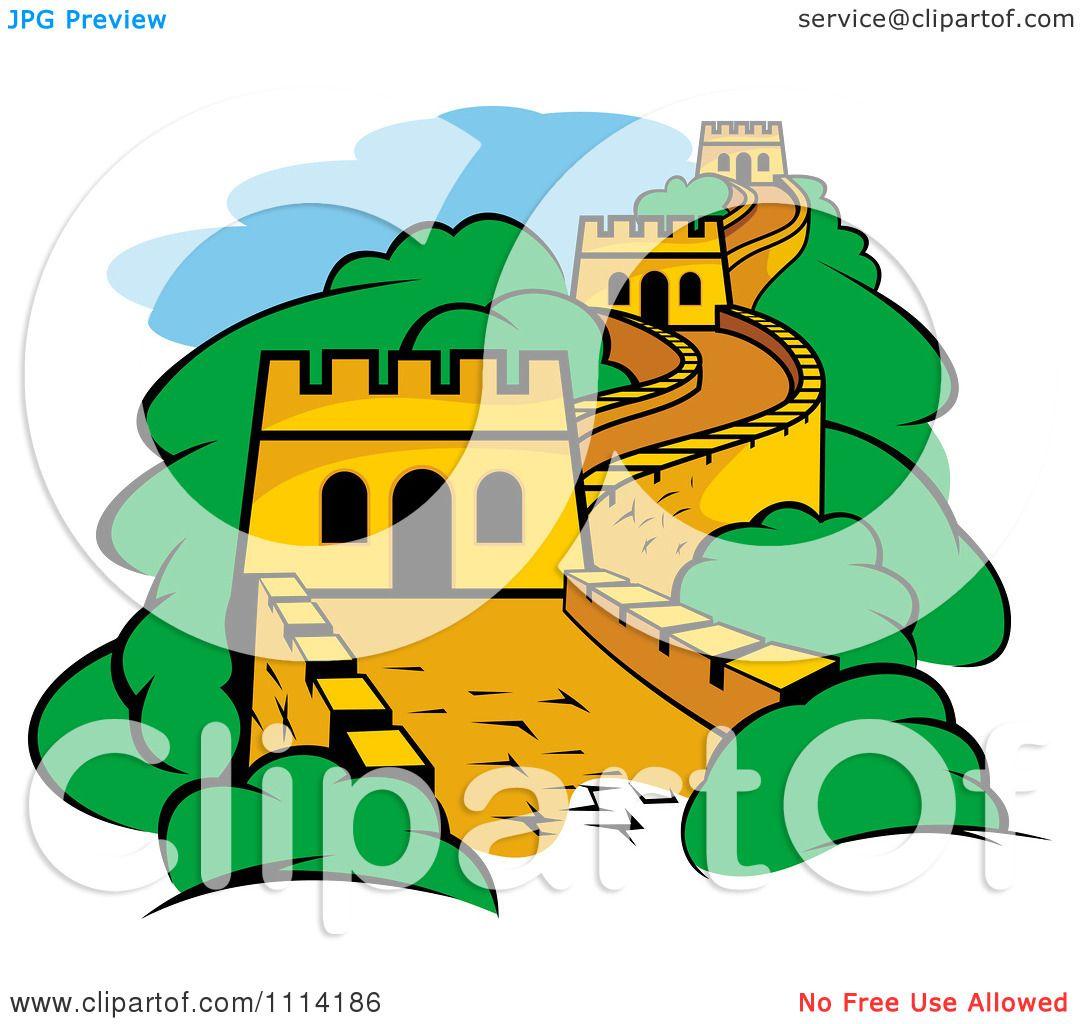 Great Wall Of China Clip Art