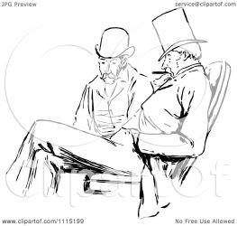 talking sitting clipart illustration vector royalty prawny regarding notes