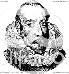 clipart vintage black and white portrait of christopher columbus royalty free vector illustration by prawny vintage [ 1080 x 1024 Pixel ]