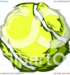 clipart yellow tennis ball royalty free vector illustration by chromaco [ 1080 x 1024 Pixel ]