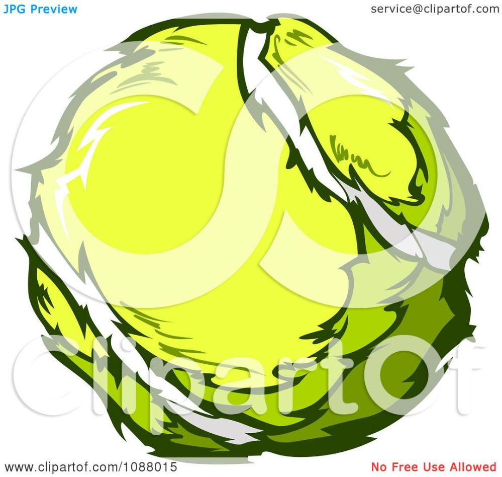 medium resolution of clipart yellow tennis ball royalty free vector illustration by chromaco