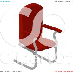 Office Chair Illustration Cost Plus Covers Red Clipart By