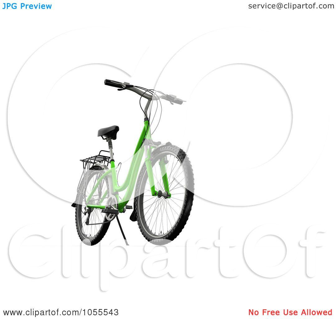 Royalty Free Cgi Clip Art Illustration Of A 3d Green