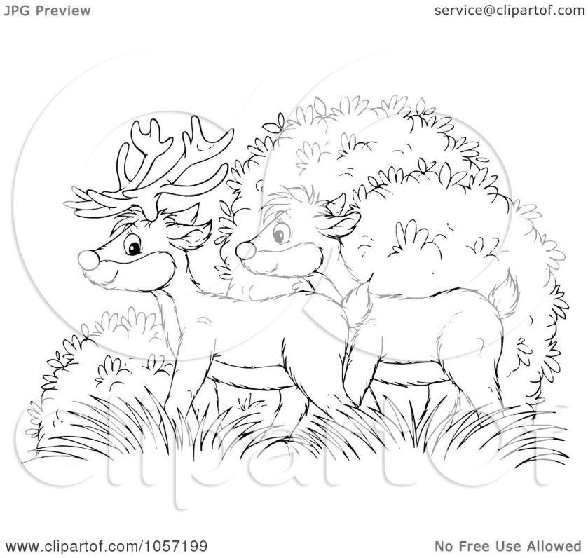 royaltyfree clip art illustration of a coloring page