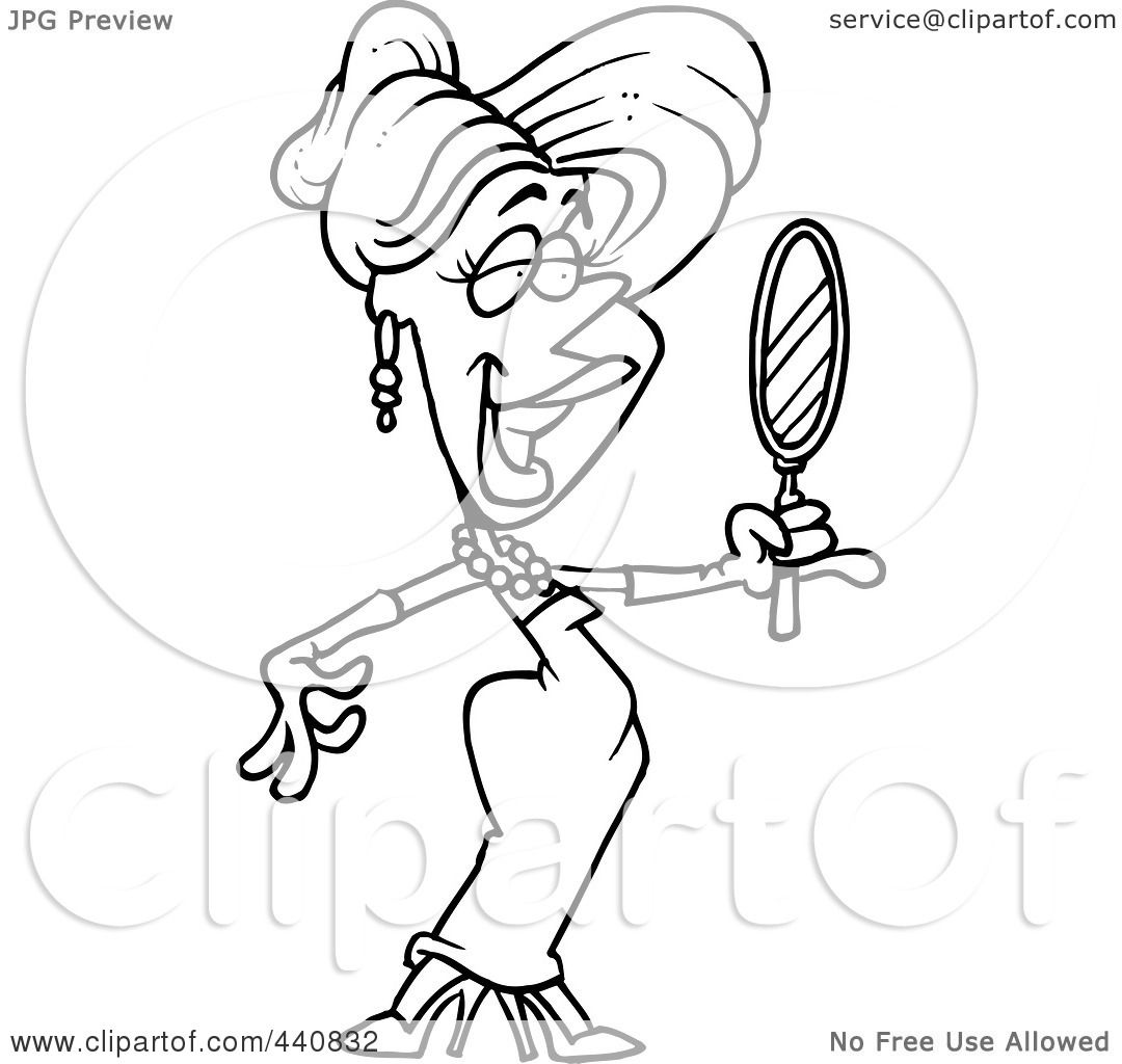 Royalty Free Rf Clip Art Illustration Of A Cartoon Black