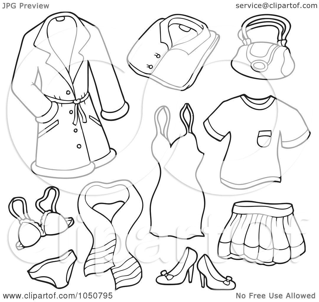 Kindergarten Math Addition Worksheet Clothes