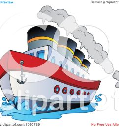 royalty free rf clip art illustration of a steamship by visekart [ 1080 x 1024 Pixel ]