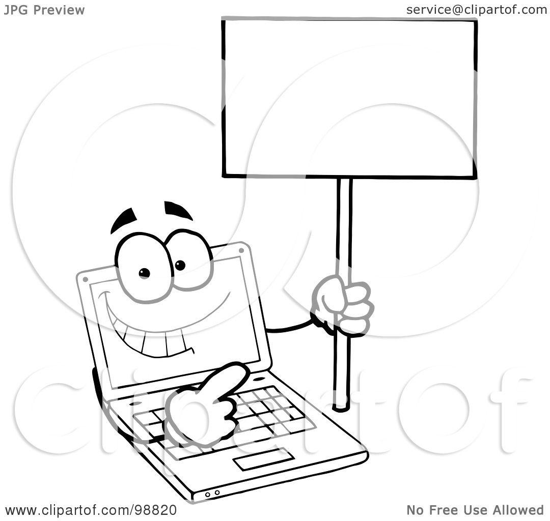 Laptop Clipart Free
