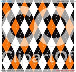 orange argyle plaid pattern clipart seamless royalty creative rf arena