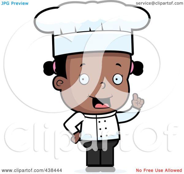 Royalty-free Rf Clipart Illustration Of Black Toddler