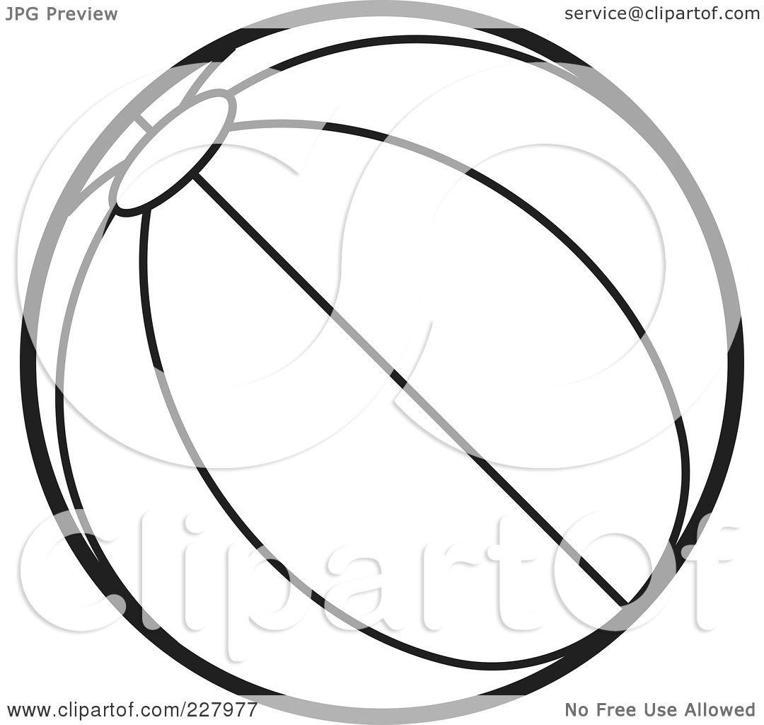 Clipart Beach Ball