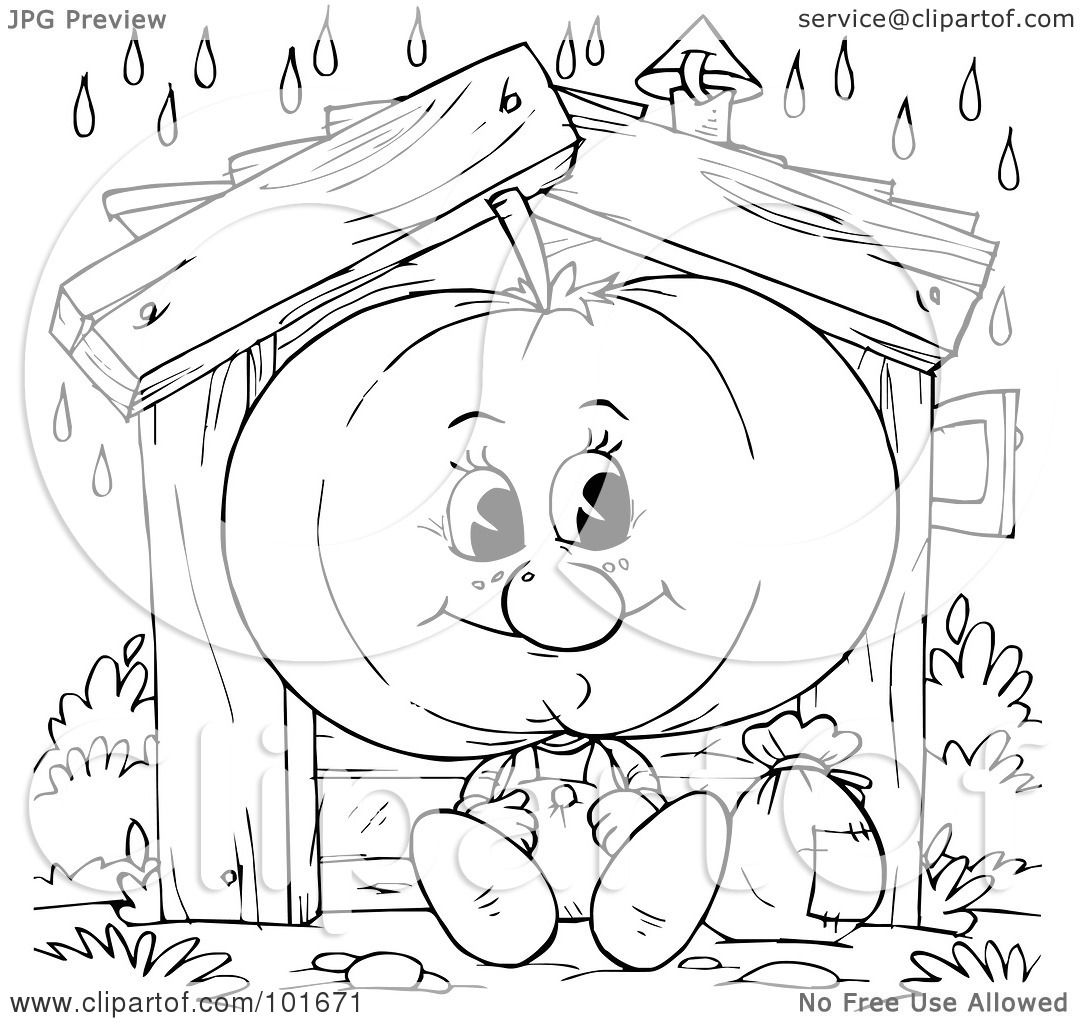 Slice Of Lettuce Coloring Page Coloring Pages