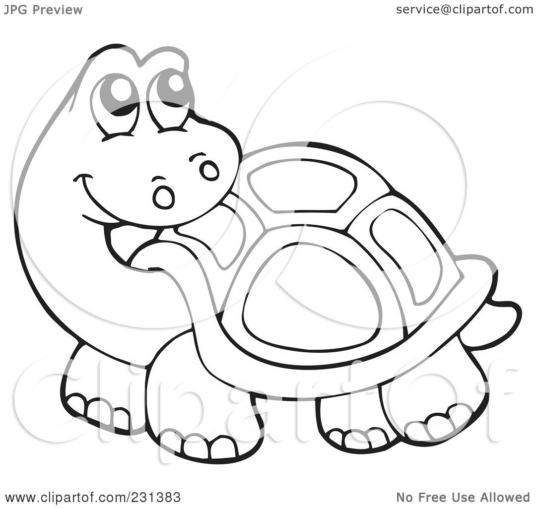 Royalty Free Rf Clipart Illustration Of A Coloring Page