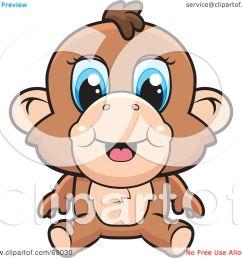baboon clipart [ 1080 x 1024 Pixel ]