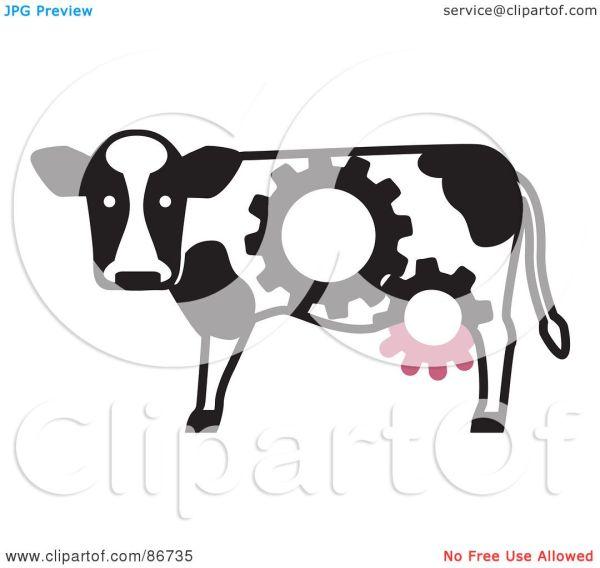 Cow Udder Clip Art