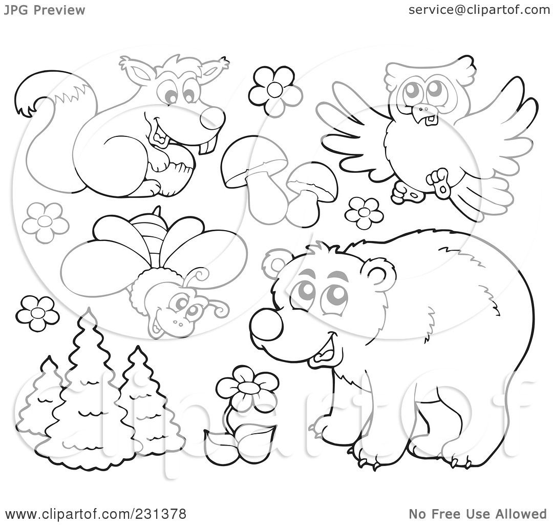 Royalty-Free (RF) Clipart Illustration of a Digital