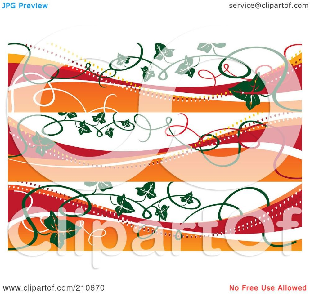 medium resolution of royalty free rf clipart illustration of a digital collage of three fall banners