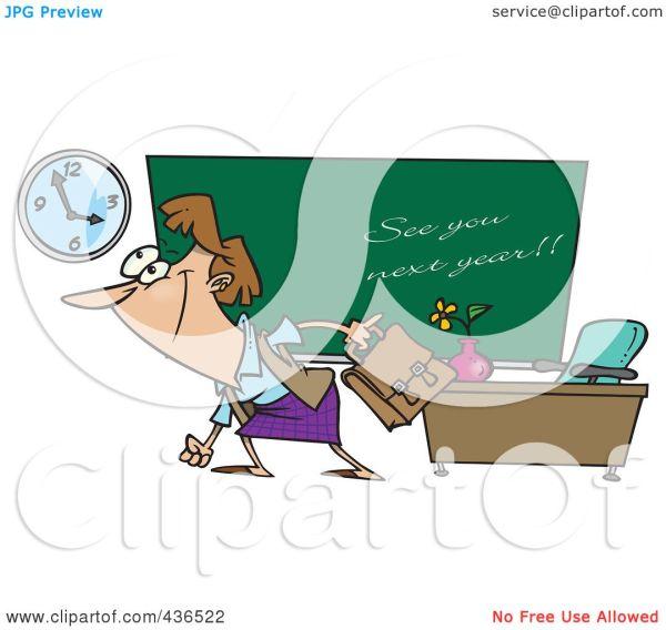 The Last Day On Teachers Leaving School