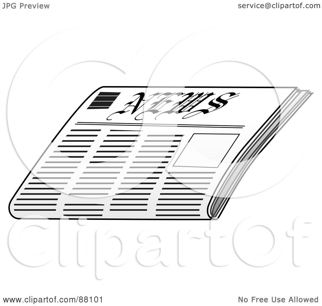 Royalty Free Rf Clipart Illustration Of A Folded