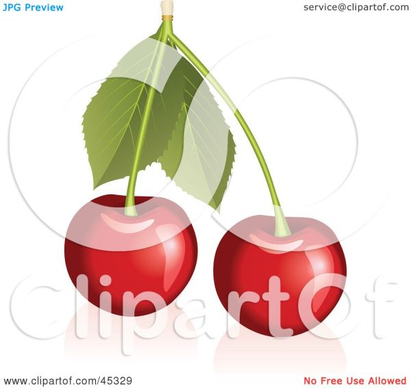 Royalty-free Rf Clipart Illustration Of Fresh And