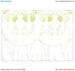 horizontal border floral clipart background illustration royalty rf reve cherie