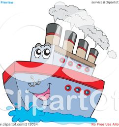 royalty free rf clipart illustration of a happy boat character with steam by [ 1080 x 1024 Pixel ]