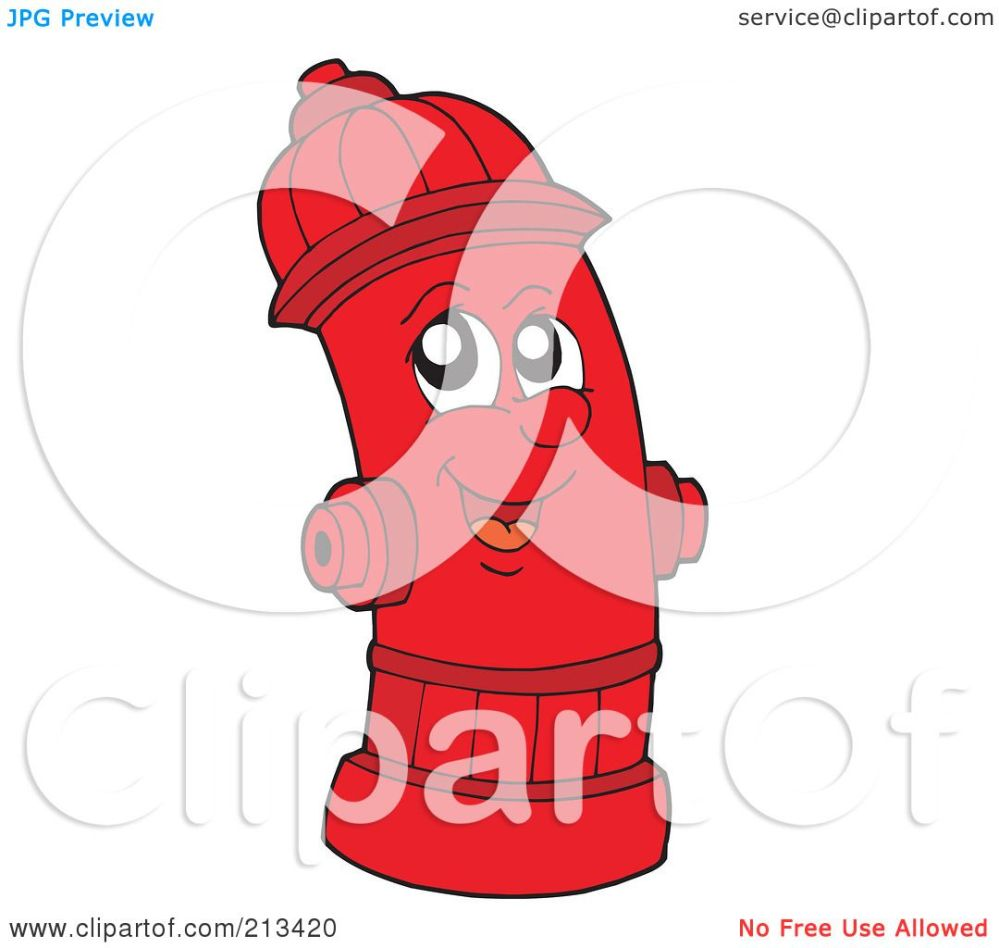 medium resolution of royalty free rf clipart illustration of a happy fire hydrant by visekart