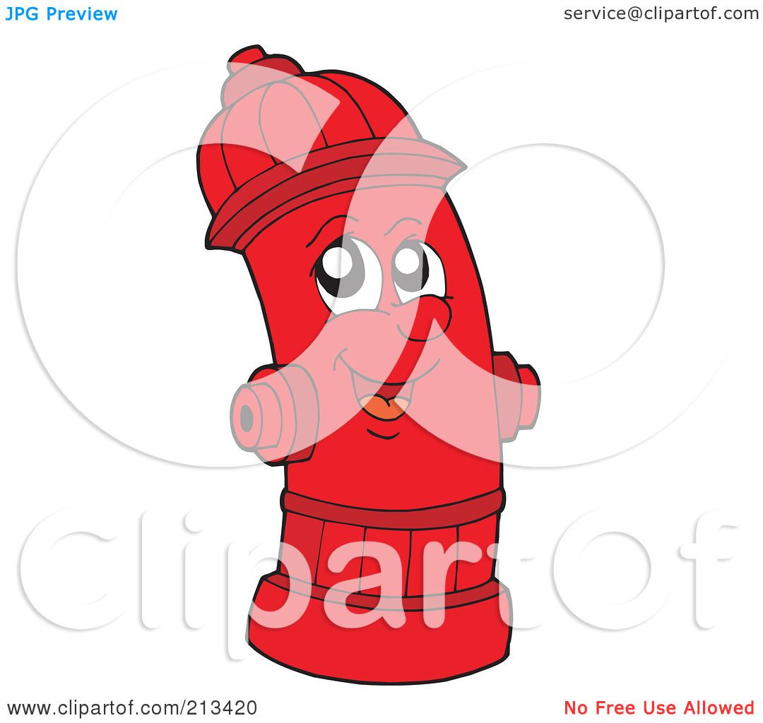 hight resolution of royalty free rf clipart illustration of a happy fire hydrant by visekart