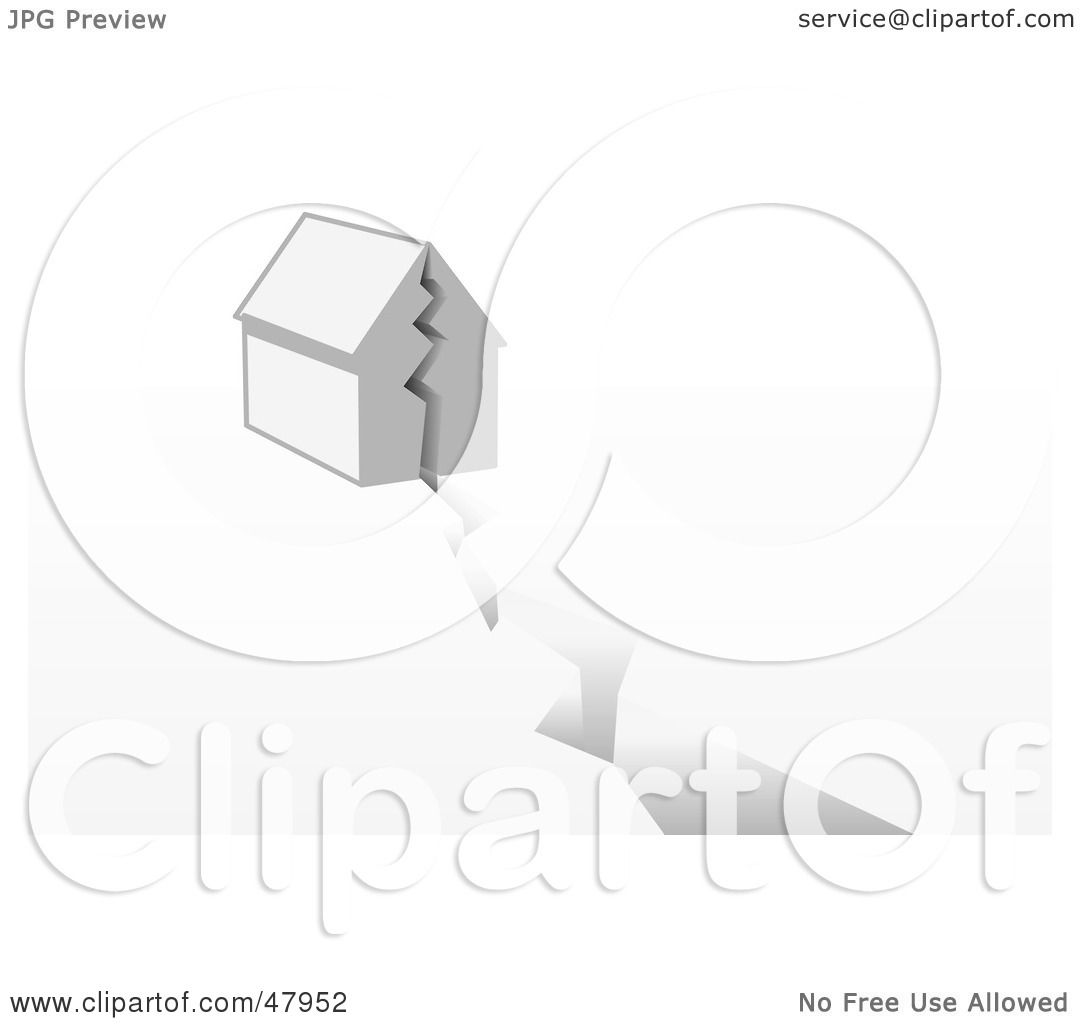 Royalty Free Rf Clipart Illustration Of A House Being