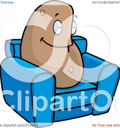 royalty free rf clipart illustration of a lazy couch potato on a blue [ 1080 x 1024 Pixel ]