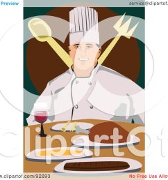 royalty free rf clipart illustration of a professional culinary chef 7 by [ 1080 x 1024 Pixel ]
