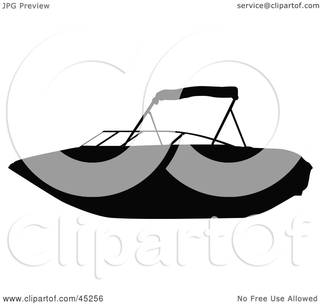 Royalty-free (RF) Clipart Illustration of a Profiled Black