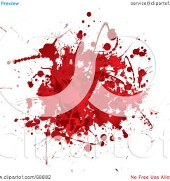royalty free rf clipart illustration of a red and white blood splatter background [ 1080 x 1024 Pixel ]